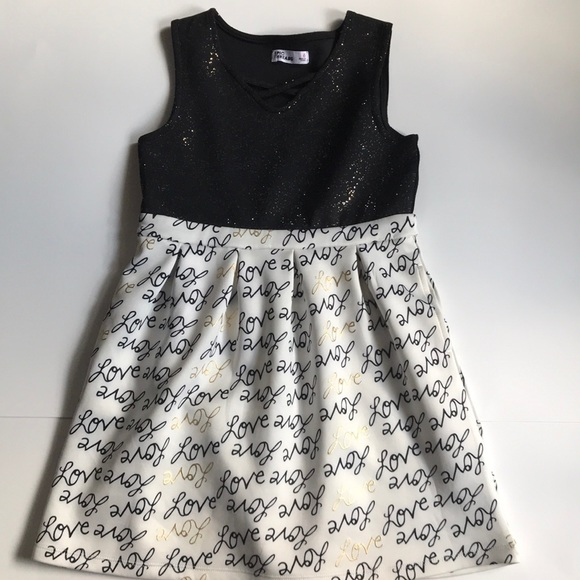 54c62710 Epic Threads Other - Girl's EPIC THREADS Sleeveless Sparkly Love Dress